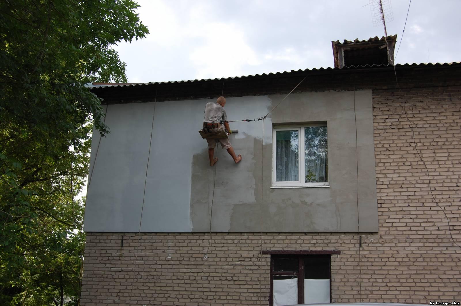 Мокрый фасад своими руками - ЗА и ПРОТИВ 51